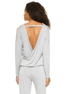 Calvin Klein Underwear Depth Long Sleeve PJ Top