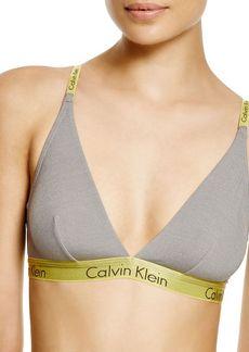 Calvin Klein Underwear Dual Tone Triangle Bralette #F3762