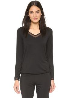 Calvin Klein Underwear Ethereal Tailored Long Sleeve Pajama Top