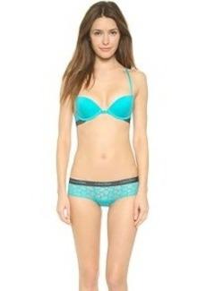 Calvin Klein Underwear Fashion Cotton Flirty Push Up Bra