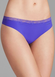 Calvin Klein Underwear Thong - Invisibles with Lace #D3517