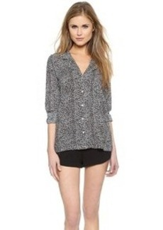 Calvin Klein Underwear Woven Long Sleeve PJ Top
