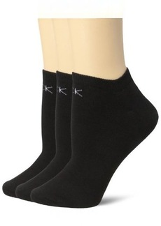 Calvin Klein Women's 3 Pack Logo Sock