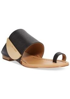 Calvin Klein Women's Babel Toe Ring Sandals Women's Shoes