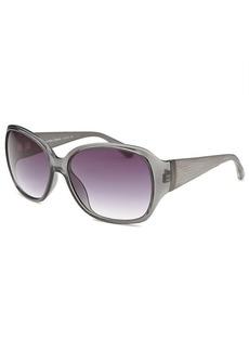 Calvin Klein Women's Butterfly Grey Sunglasses