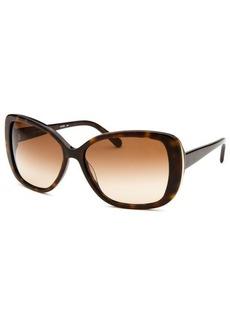 Calvin Klein Women's Butterfly Havana Sunglasses