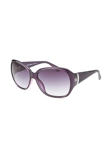 Calvin Klein Women's Butterfly Purple Sunglasses