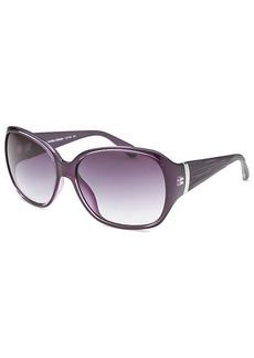Calvin Klein Women's Butterfly Purple Sunglasses