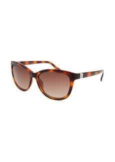 Calvin Klein Women's Cat Eye Dark Havana Sunglasses