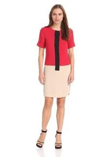 Calvin Klein Women's Colorblock Sheath Dress