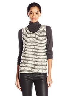 Calvin Klein Women's Crochet Shell Top