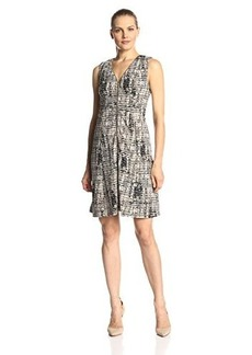 Calvin Klein Women's Zip-Up Sleeveless Dress