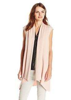 Calvin Klein Women's Flyaway Sweater Vest, Blush, X-Small