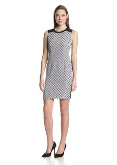 Calvin Klein Women's Geo-Check Dress