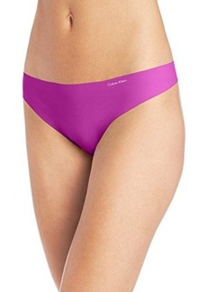 Calvin Klein Womens Invisibles Thong Panty
