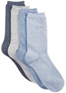 Calvin Klein Women's Juliet Holiday Socks 4 Pack