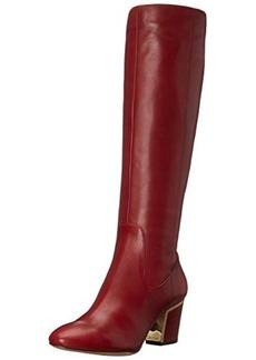 Calvin Klein Women's Keana Motorcycle Boot, Dark Red, 6 M US