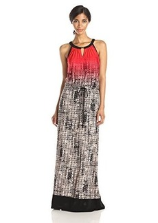Calvin Klein Women's Keyhole Maxi Dress