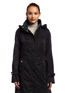Calvin Klein Womens Long Packable Anorak Jacket