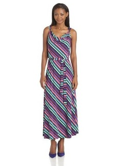 Calvin Klein Women's Maxi Dress with Hardware