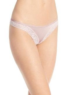 Calvin Klein Women's Modern Signature Thong Panty