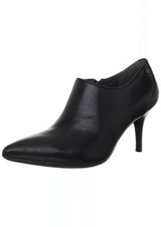 Calvin Klein Women's Nevah Shiny Nappa Ankle Boot
