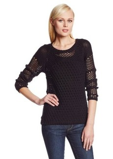 Calvin Klein Women's Novelty Stitch Sweater