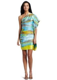 Calvin Klein Women's One Shoulder Dress
