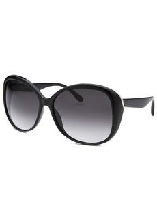 Calvin Klein Women's Oversized Black Sunglasses