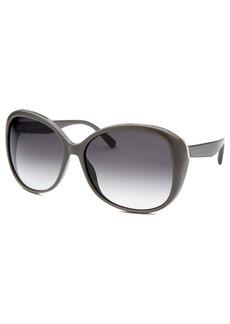 Calvin Klein Women's Oversized Grey Sunglasses