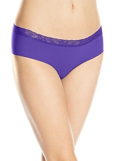 Calvin Klein Women's Invisibles with Lace Hipster Panty