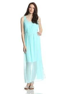 Calvin Klein Women's Pintuck Maxi Dress