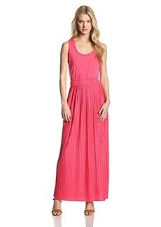 Calvin Klein Women's Pleated Maxi Dress