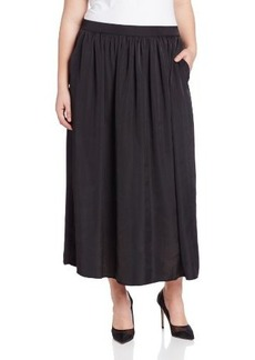 Calvin Klein Women's Plus-Size Long Airflow Skirt