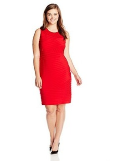 Calvin Klein Women's Plus-Size Sleeveless Banded Dress
