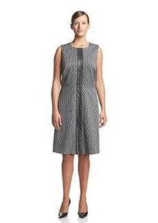 Calvin Klein Women's Plus-Size Slub Ponte Dress