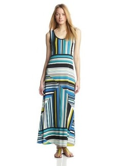 Calvin Klein Women's Printed Maxi Dress