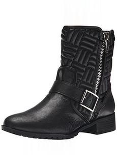 Calvin Klein Women's Rauline Boot, Black/Silver, 6 M US