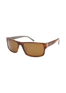 Calvin Klein Women's Rectangle Tortoise Sunglasses