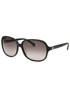 Calvin Klein Women's Round Black Sunglasses