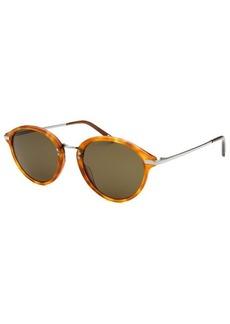 Calvin Klein Women's Round Blonde Havana Sunglasses