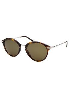 Calvin Klein Women's Round Havana Sunglasses