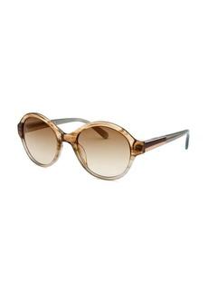 Calvin Klein Women's Round Multi-Color Sunglasses