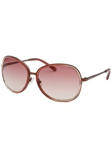 Calvin Klein Women's Round Rose Sunglasses