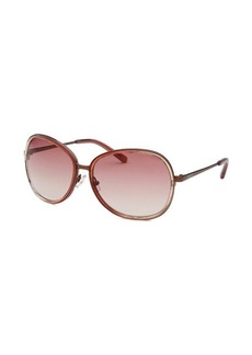 Calvin Klein Women's Round Rose Sunglasses