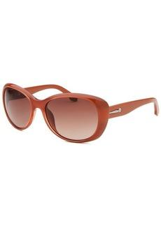 Calvin Klein Women's Round Russet Sunglasses