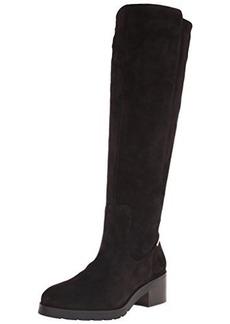 Calvin Klein Women's Salomon Motorcycle Boot, Espresso Suede, 6 M US