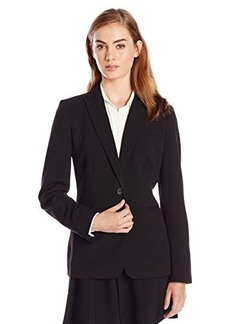 Calvin Klein Women's Single-Button Suit Jacket