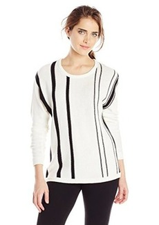 Calvin Klein Women's Striped Pullover