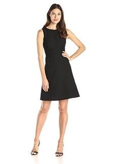Calvin Klein Women's Sleeveless Textured Dress